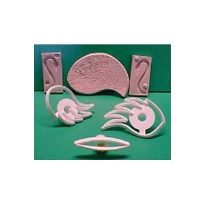 ORCHARD Flower Swan Cutter Set and Moulds