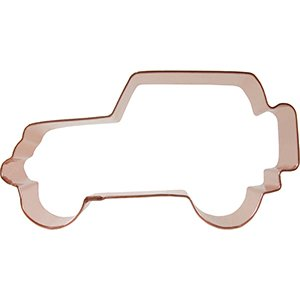 CopperGifts: SUV with Tire Cookie Cutter