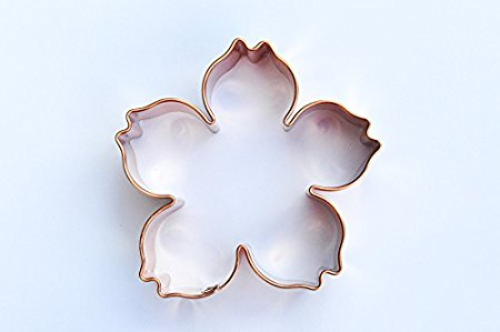 ecrandal Blossom Flower copper cookie cutter
