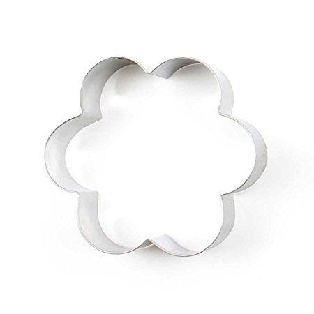 12 Pieces Biscuit Cookie Cutter Small Plum Flower Metal Jelly Cake Mould Fruits Molds