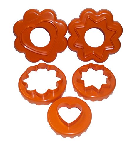 Tupperware Cut A Shape 5-in-1 Cookie Cutter Set