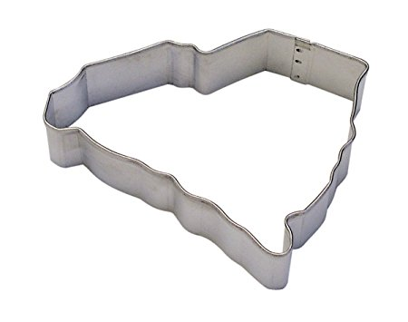 CybrTrayd R&M South Carolina State Tinplate Steel Cookie Cutter, Silver, Lot of 12