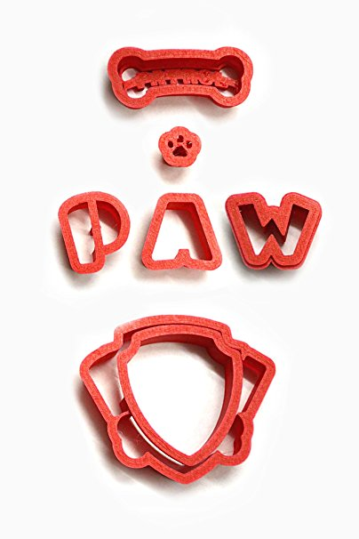 New Paw Cartoon 100 Cookie Cutter Set (3 inches)