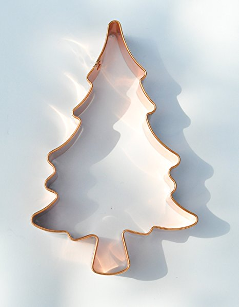 ecrandal Christmas Tree copper cookie cutter